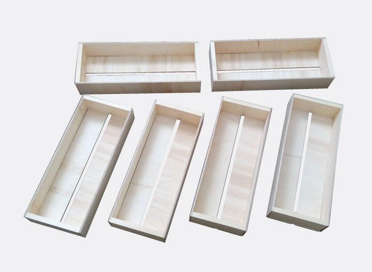 Malé bedýnky 29 x 11,8 x 5,4 cm - 6 ks (Eliška)